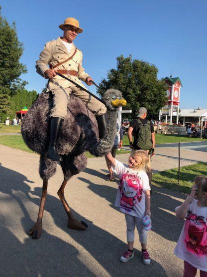 Greg Tarlin Ostrich Rider